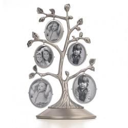 Ramka drzewko genealogiczne dwustronne