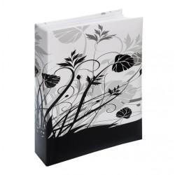 Album na 200 zdjęć 10x15. BLACK & WHITE FLOWERS