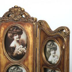 Ramka retro na 5 zdjęć