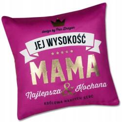 Poduszka. Królewski prezent dla Kochanej Mamy