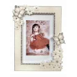 Ramka posrebrzana zdjęcie 10x15 ślub walentynki