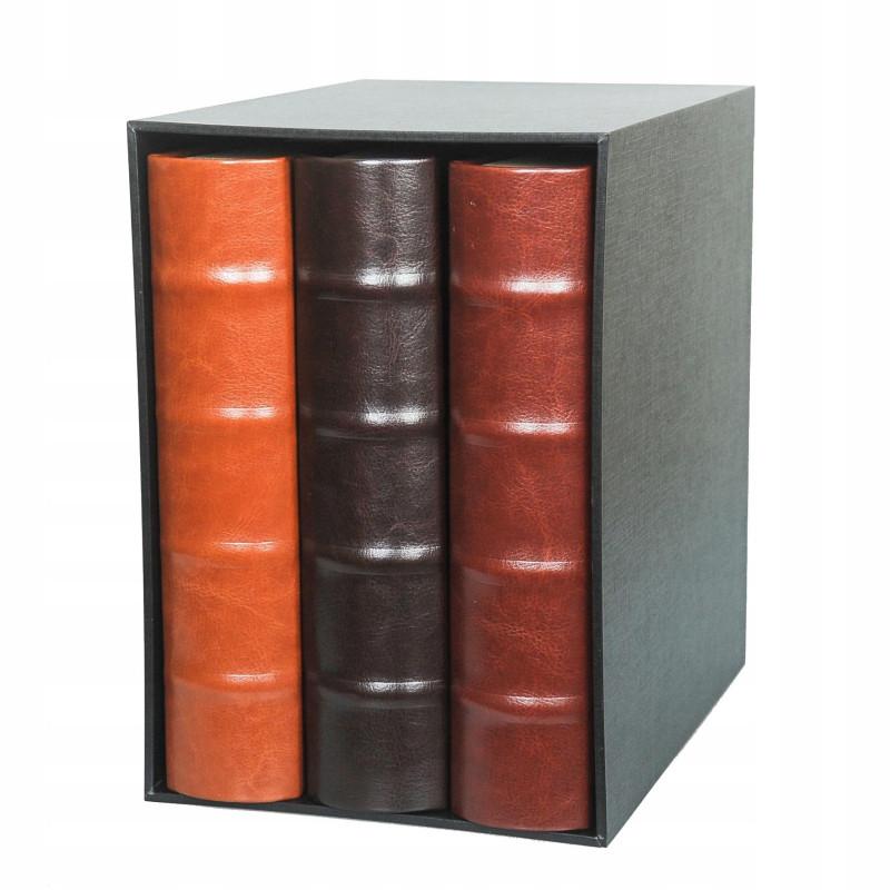 Trzy albumy kieszeniowe 600 zdjęć 10x15 DECOR