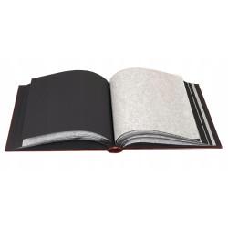 Album tradycyjny Duży czarne strony 100 Walther