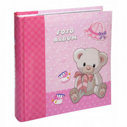 Album na 200 zdjeć 10x15 dla dziecka Szty z opisem