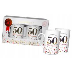 Kubeczki super prezent na 50 rocznicę ślubu
