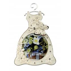 Ramka na zdjęcie remowa sukienka z motylkiem