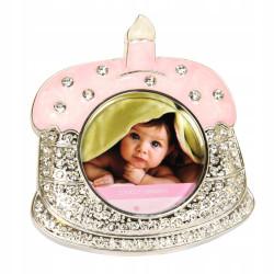 Ramka na zdjęcie dziecka różowa Pierwszy roczek