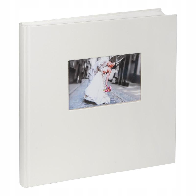 Biały album na zdjęcia ślubne. Walther. Charm