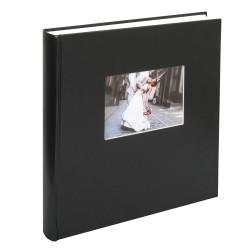 Czarny album na zdjęcia ślubne. Walther. Charm