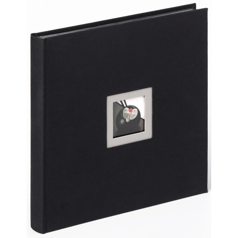 Album na zdjęcia ślubne czarne strony Walther