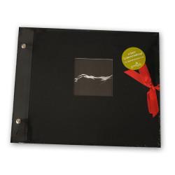 Album na zdjęcia ślubne czarne strony GOLDBUCH
