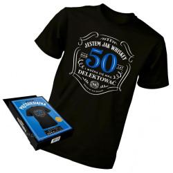 Koszulka M prezent na 50...