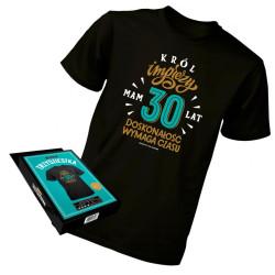 Koszulka XL prezent na 30...